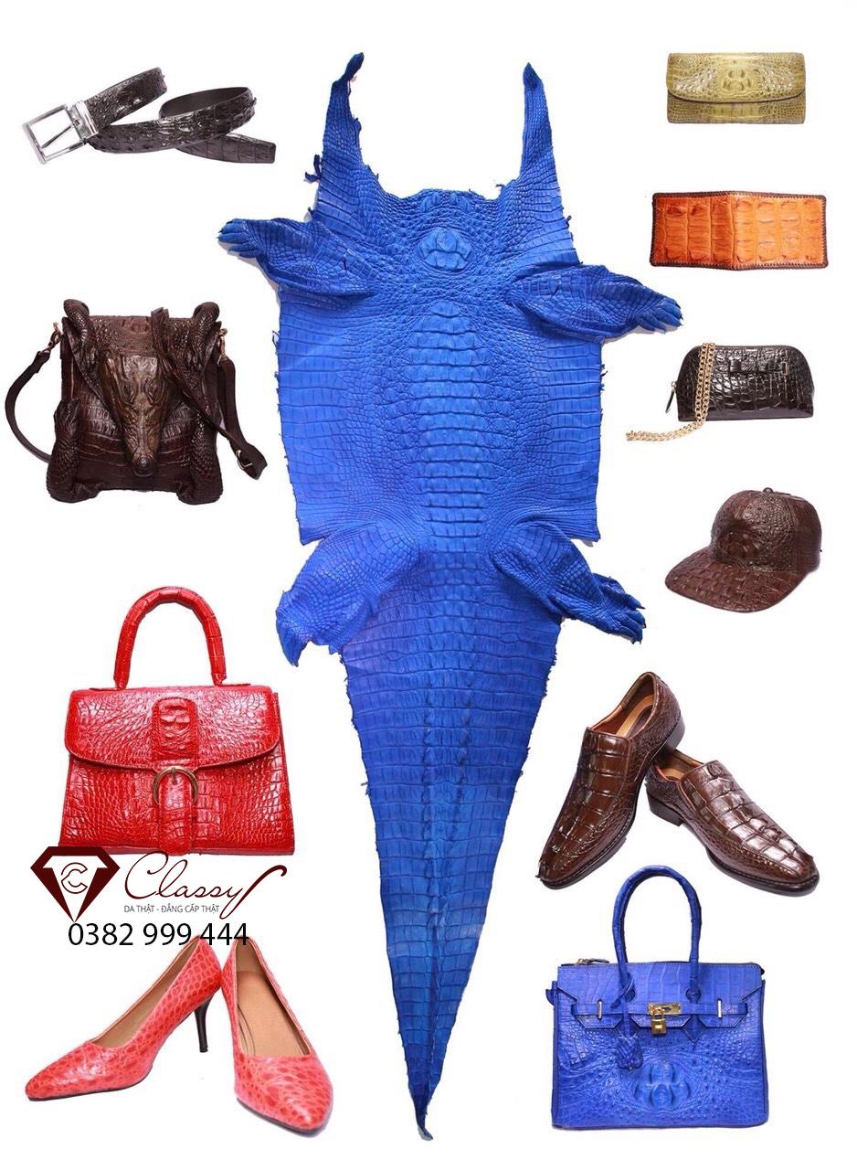 Làm đồ da cá sấu theo yêu cầu tại Classy