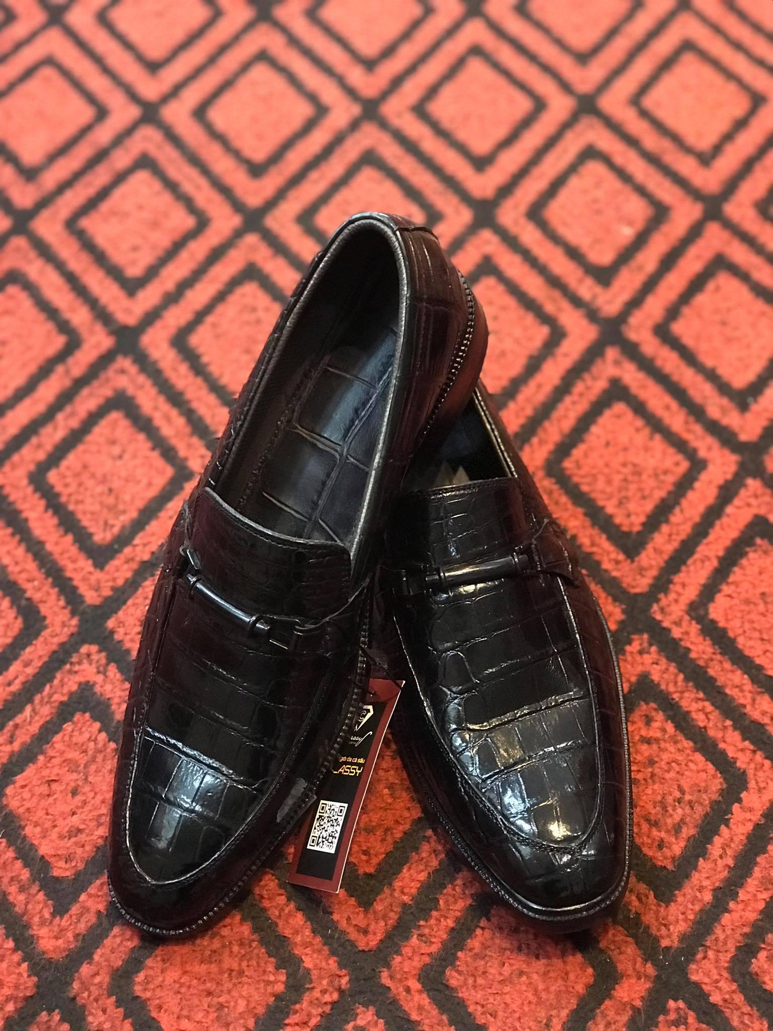 Giày da nam cao cấp Nghệ An